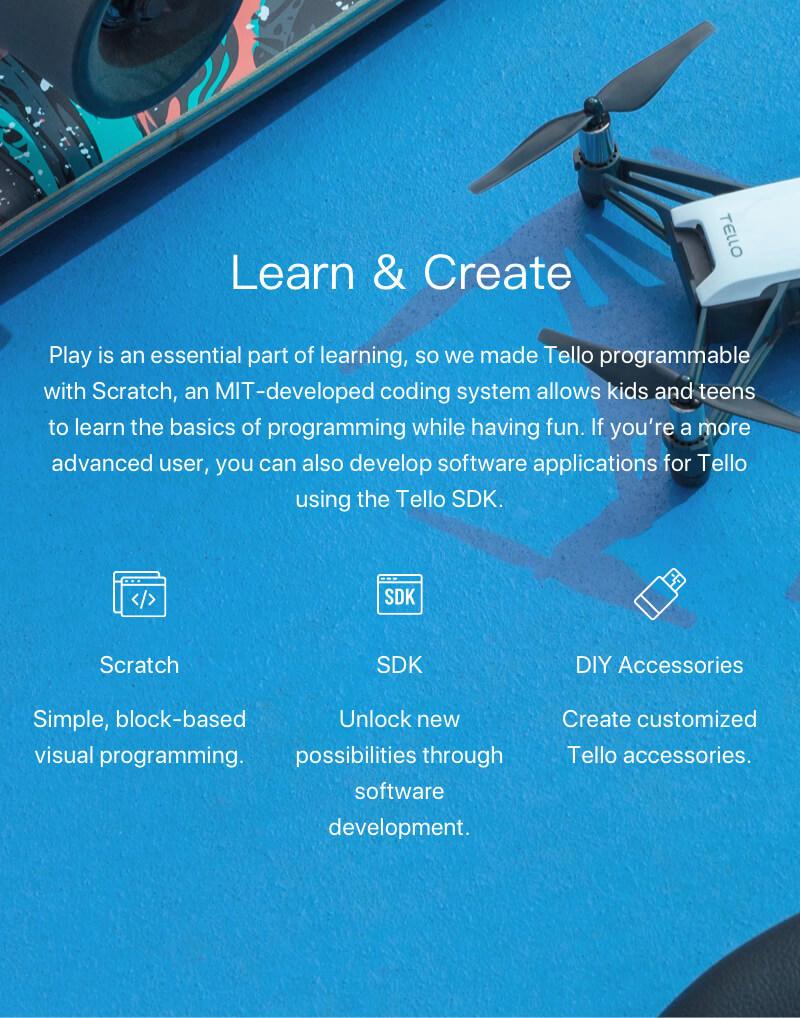 Ryze Tello Drone - Powered by DJI - Drone Store Ireland